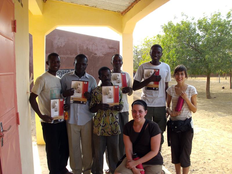 Die Studentinnen wurden in Mali herzlich empfangen, berichten sie. Foto: Birgit Biel