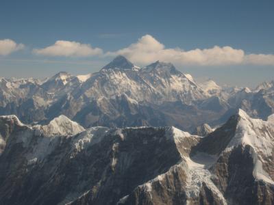 Den Mount Everest bestieg Messner 1978 ohne die Hilfe von Flaschensauerstoff. Foto: skeiwoker/ pixelio.de