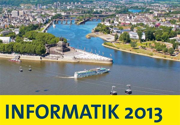 Großtagung in Koblenz: Die INFORMATIK 2013. Foto: Koblenz Touristik/ Bearbeitung: Marasco