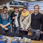 Orientierungsmesse WS 2013 - Stand des Uniblogs - Sarah, Daniel, Lisa und Christoph 02