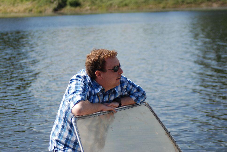 Tobias Schumacher arbeitet dort, wo andere entspannen: Als Rudertrainer ist er oft in ganz Deutschland unterwegs - vor allem aber auf dem Wasser. Foto: Privat