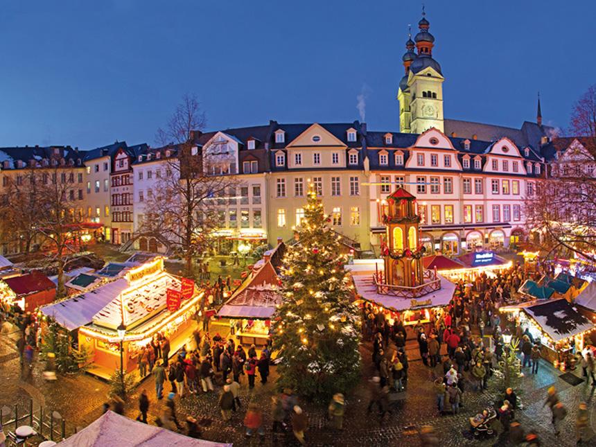 Die schönsten Weihnachtsmärkte unserer Region. Foto: Piel Media/Koblenz-Touristik