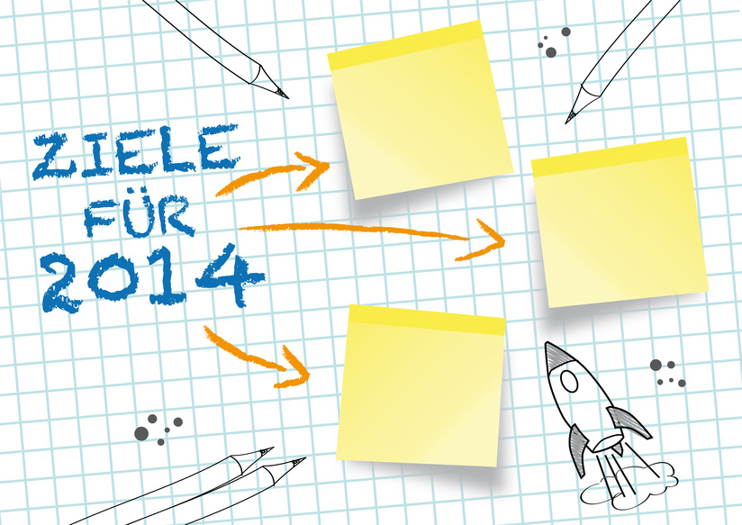 Und was sind Ihre Vorsätze für 2014? Foto: Fotolia