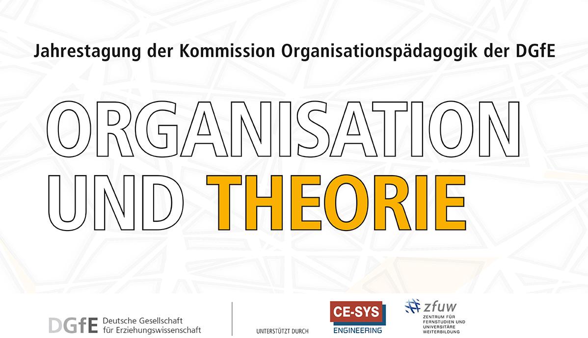 """Die Tagung """"Organisation und Theorie findet am 21. bis 22. Februar an der Universität Koblenz-Landau statt."""