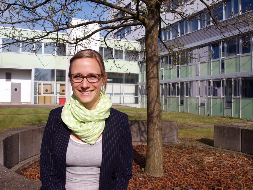 Marina Bonanati forscht am Institut für Grundschulpädagogik in Koblenz über Gespräche zwischen Schülern, Eltern und Lehrern. Foto: Sandra Erber