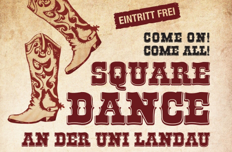 Square Dance im Audimax.