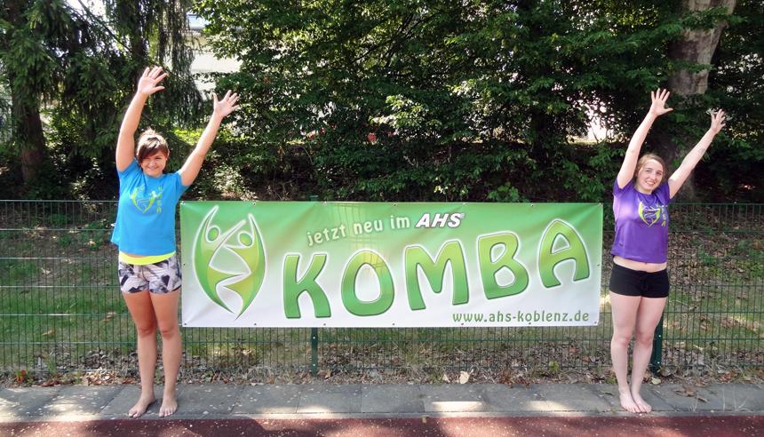 KOMBA kann man im Herbst beim AHS tanzen. Die Wortneuschöpfung steht für: Koblenzer AHS Macht Bewegung Attraktiv. Foto: AHS