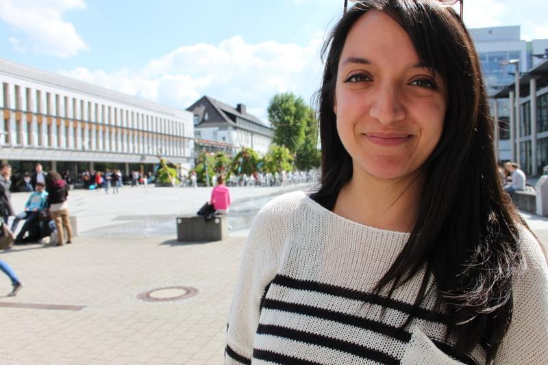 Die Malteserin Nicole Galea studiert an der Universität Koblenz Kulturwissenschaft. Foto: Andreas Babiak