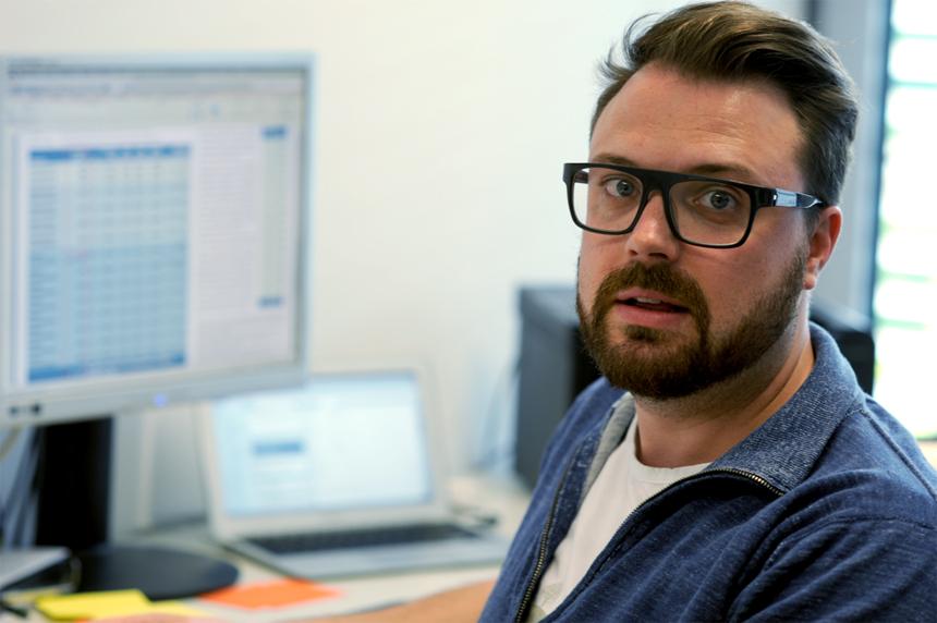 Patrick Bacherle ist Doktorand am Institut für Kommunikationspsychologie und Medienpädagogik in Landau. Foto: Privat
