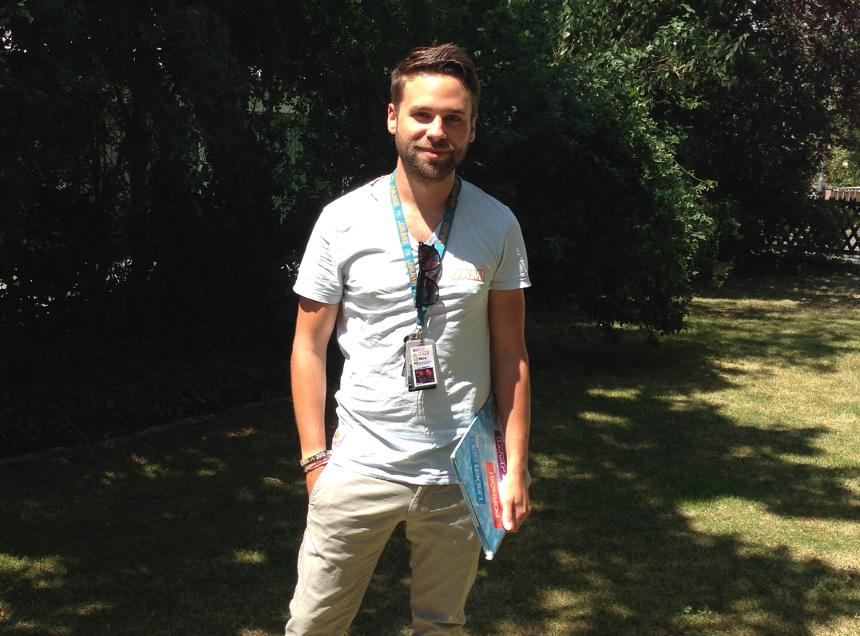 Psychologie-Student Nicolas Bräutigam arbeitet bei einem Jugendreise-Unternehmen. Foto: Privat