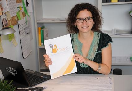 """Ein Jahr lang hat Stefanie Hurth den Qualitätsindex für Kinder- und Jugendhospizarbeit getestet. Nun ist der """"QuinK"""" fertig und soll im Oktober in die Praxis gehen. Foto: Hiller"""
