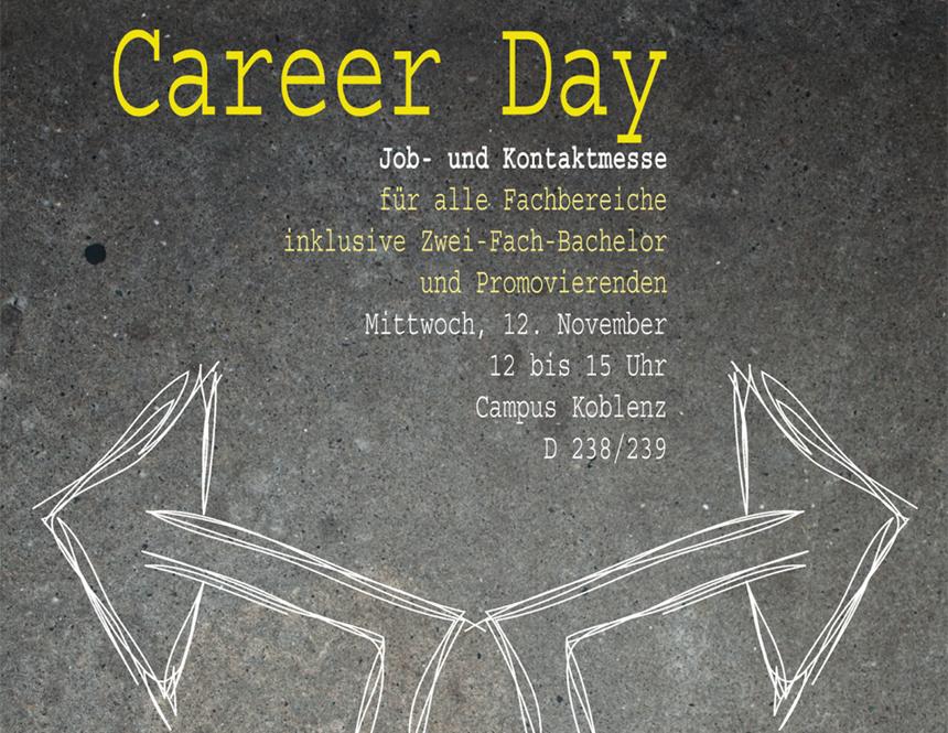 Welchen Jobweg wähle ich? Der Career Day am Campus Koblenz hilft bei der Entscheidung.