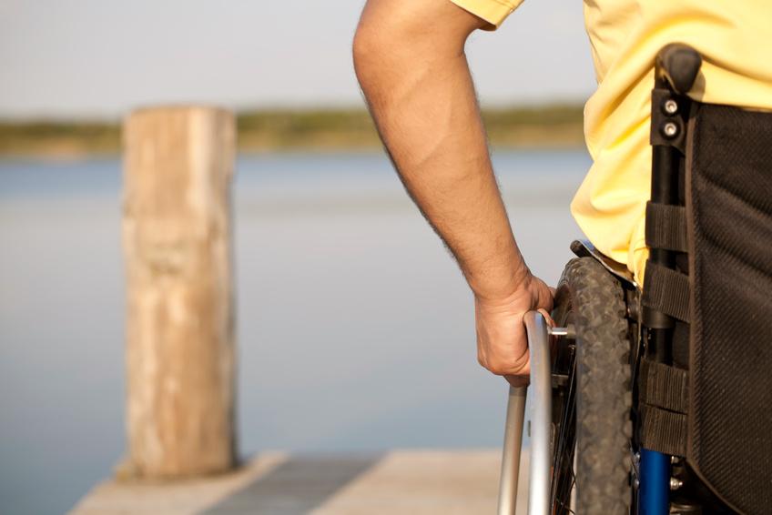 """Rechte für Menschen mit Behinderung sind leider keine Selbstverständlichkeit. Auf der Tagung """"Sex inklusive - sexuelle Selbstbestimmung und Behinderung"""" diskutieren Fachkräfte, Bewohnerinnen und Bewohner zum Thema. Foto: Fotolia / Jenny Sturm."""