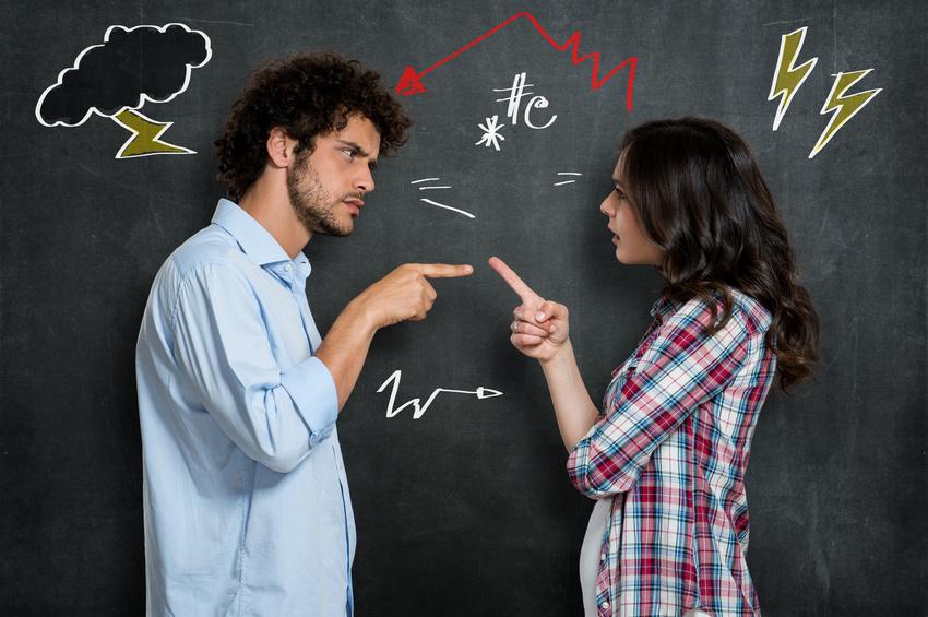 Konflikte und Kommunikationsstörungen bleiben auch im Schulalltag nicht aus. Landauer Studierende lernen, wie Konflikte funktionieren und wie man damit umgeht. Foto: Fotolia/Rido.