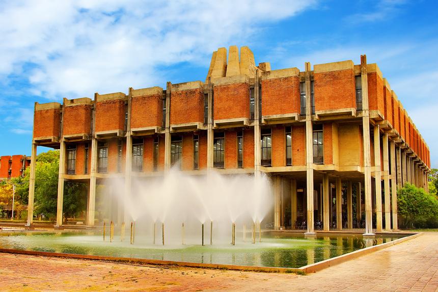Imposantes Gebäude: Die Bibliothek des IIT. Foto: IIT Kanpur