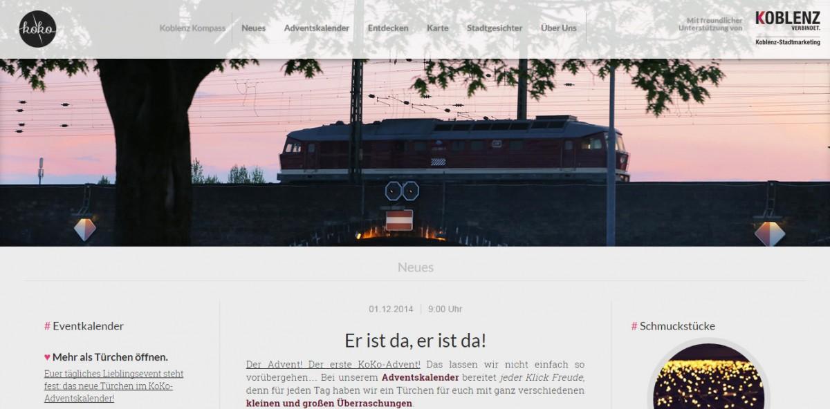 Auf der Hompage von Koblenz Kompass finden auch Studenten spannende neue Orte in Koblenz.