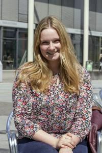 Carolina Möller (19), Lehramt Englisch und Deutsch. Foto: Müller