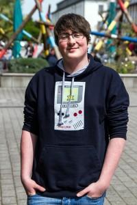 Fynn Hartung (18), Gymnasiallehramt Englisch und Mathematik. Foto: Adam