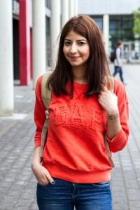 Hadis Fallah (21), Lehramt Realschule Plus, Deutsch und Englisch. Foto: Adam
