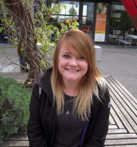 Jana Doorn (19), Lehramt Ethik und Englisch. Foto: Molter