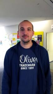 Lukas Müller (26), Grundschullehramt. Fächer: Wirtschaft & Arbeit, Mathematik. Foto: Greb