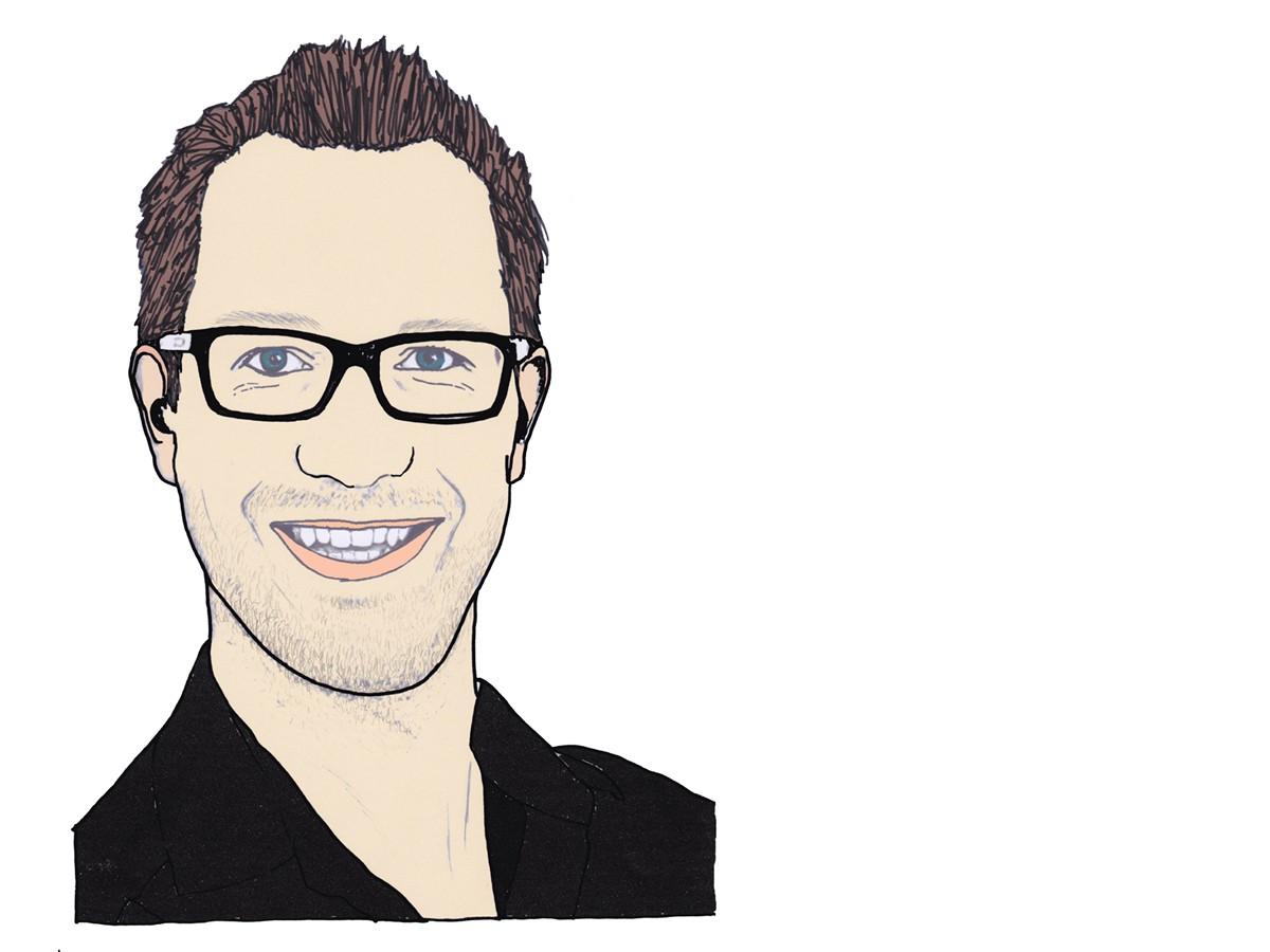 Heute schreibt Campus-Reporter Adrian Müller. Zeichnung: Carolin Höring.