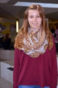 Tamara Schulz (20), Gymnasiallehramt Biologie und Deutsch. Foto: Gräsel