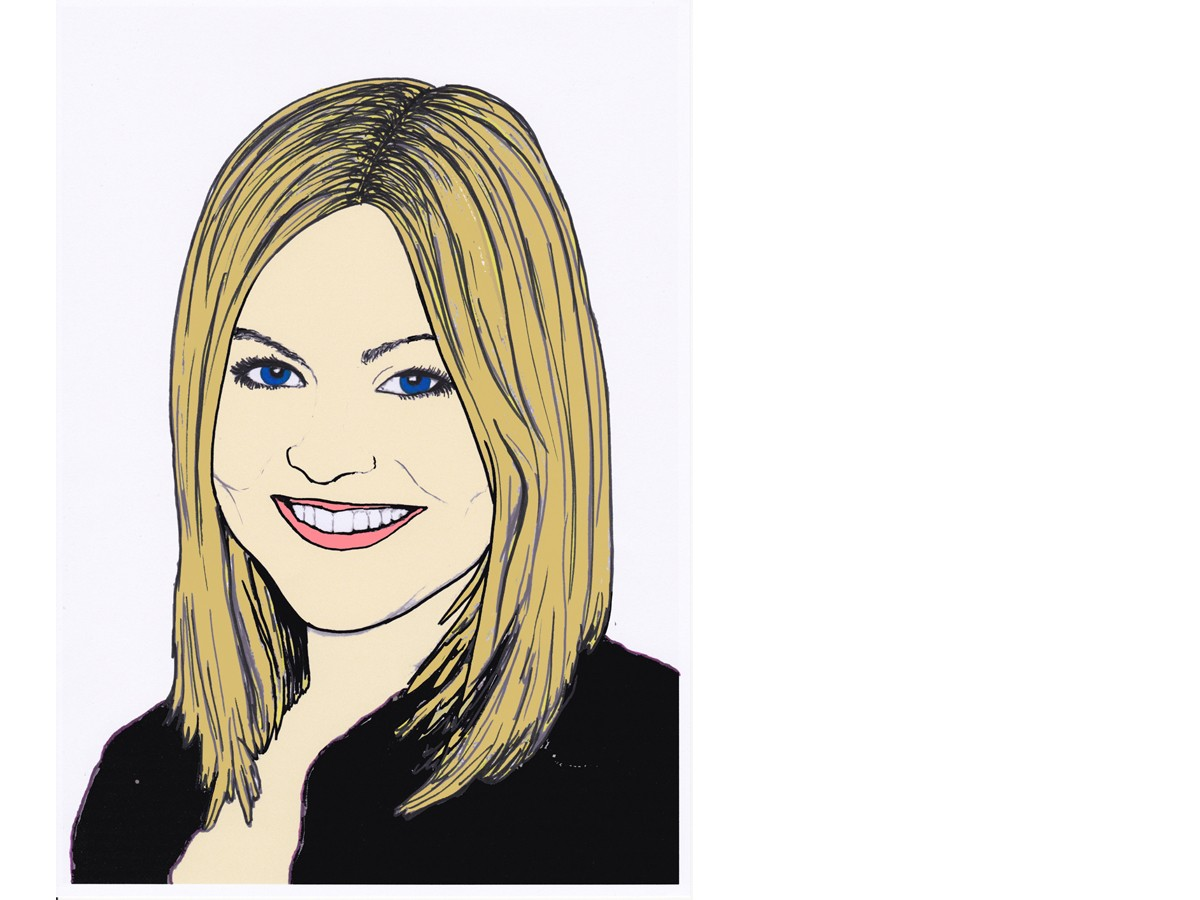 Heute schreibt Campus-Reporterin Angela Gräsel. Zeichnung: Carolin Höring