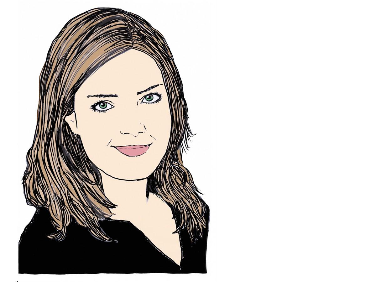 Heute schreibt Campus-Reporterin Carolin Höring. Zeichnung: Carolin Höring.