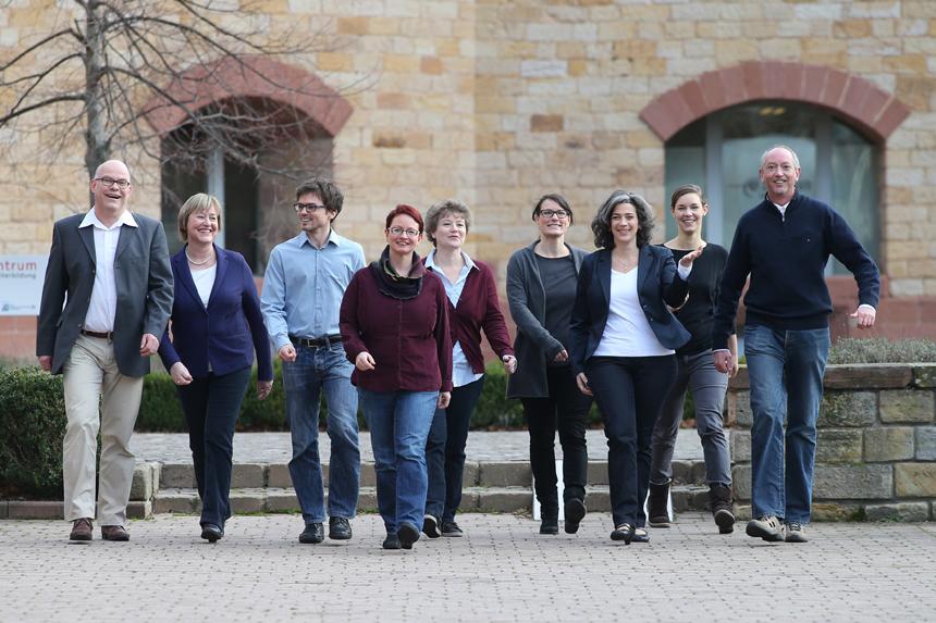 Das Landauer WiPP-Team um Geschäftsführerin Frau Dr. Zaby (3.v.r.). Foto: Privat.