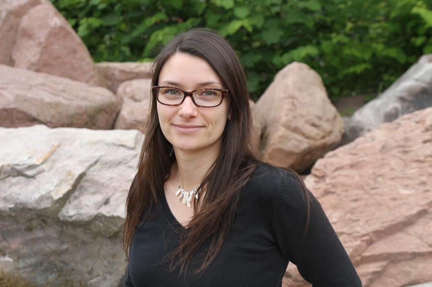 Nadine Ketterer: Stipendiatin und Stipendiumsbotschafterin in Landau. Foto: Privat