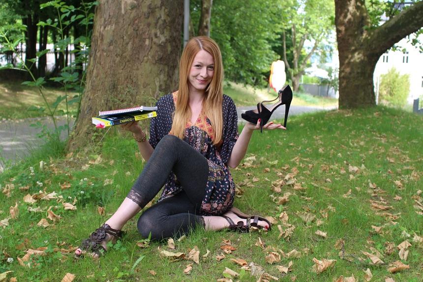 Theresa-Marie Pongratz zwischen Geisteswissenschaften und Modelbusiness. Foto: Esther Bauer