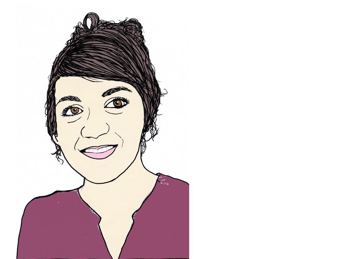 Heute schreibt Campus-Reporterin Hannah Wagner. Zeichnung: Carolin Höring