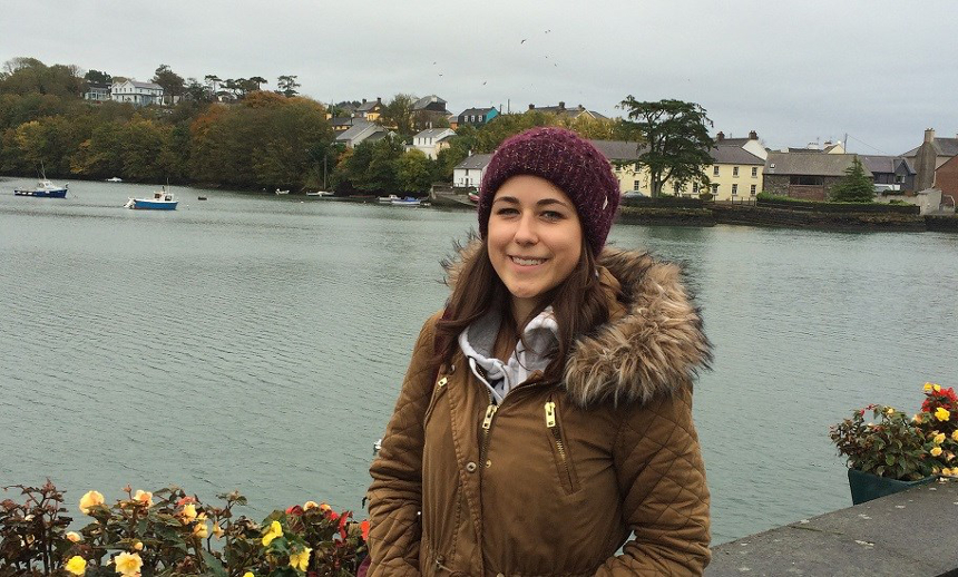 Michelle Bebbon besuchte während ihres Auslandsaufenthaltes in Irland das verträumte Fischerörtchen Kinsale. Fotos: Privat