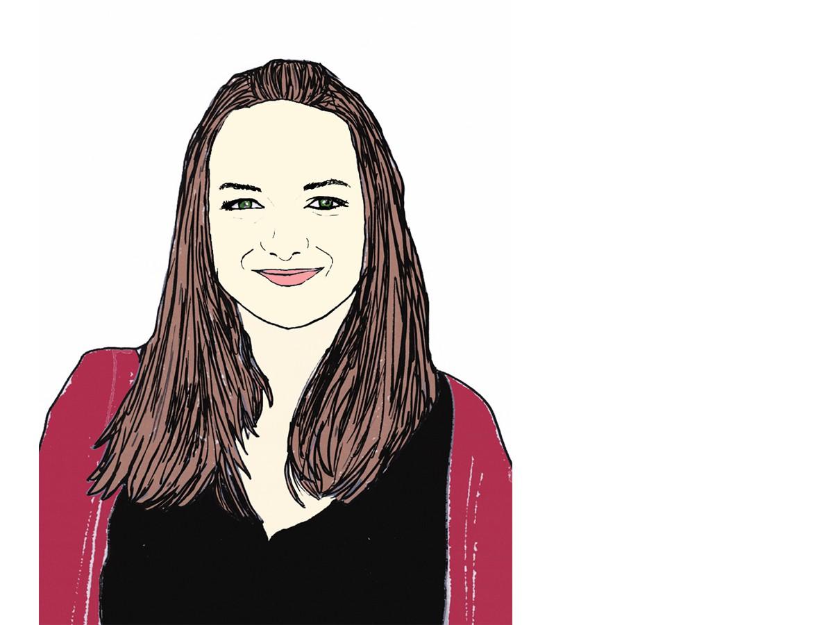 Heute schreibt Kati Greb. Zeichnung: Carolin Höring