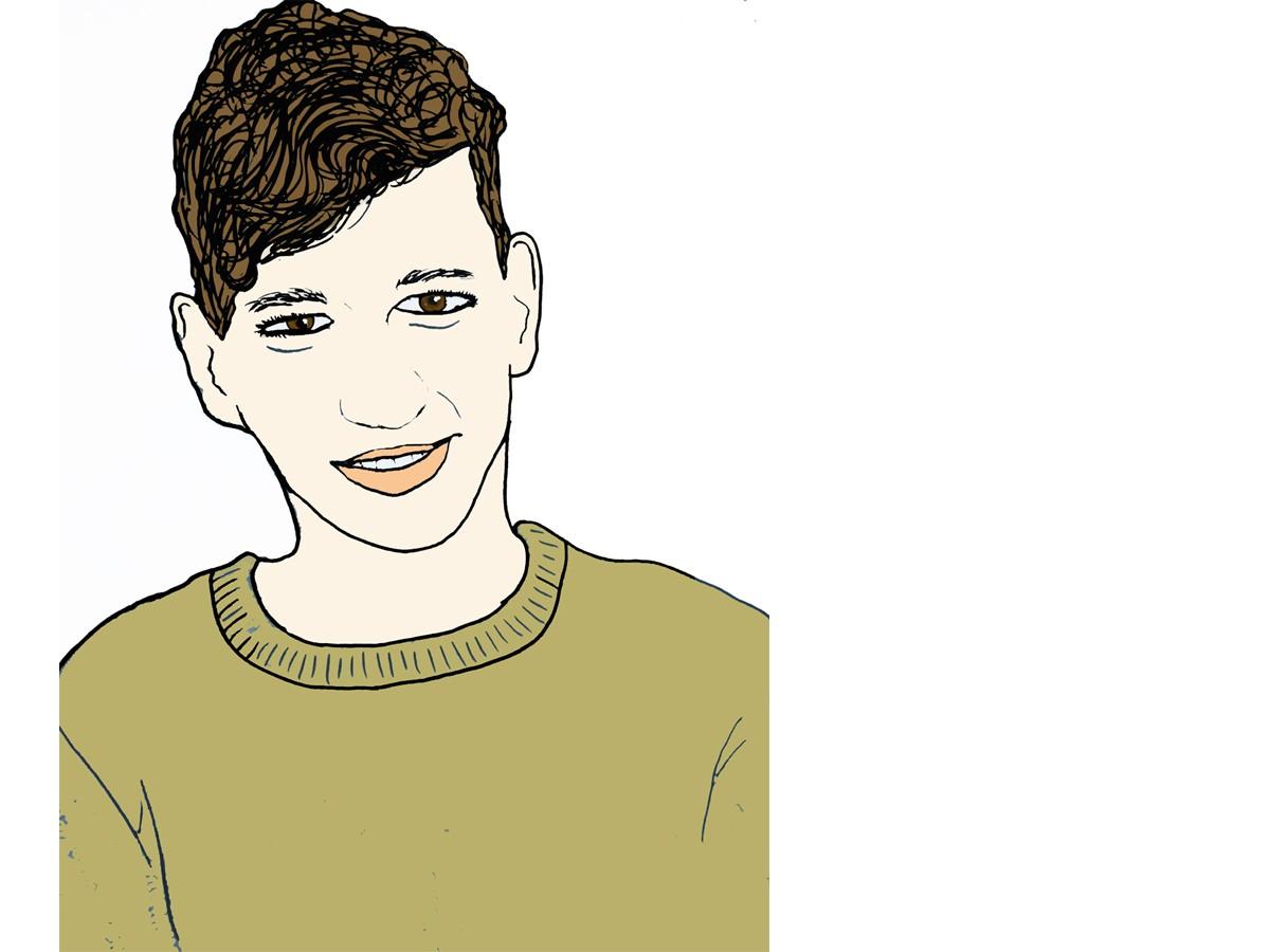 Heute schreibt Campus-Reporter Andreas Babiak. Zeichnung: Carolin Höring.