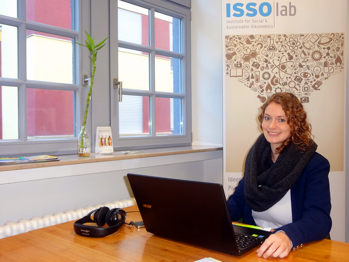 Karen Kontschak unterstütz mit ihrer Arbeit sozial-ökonomisch ausgerichtete Jungunternehmen. Foto: Privat