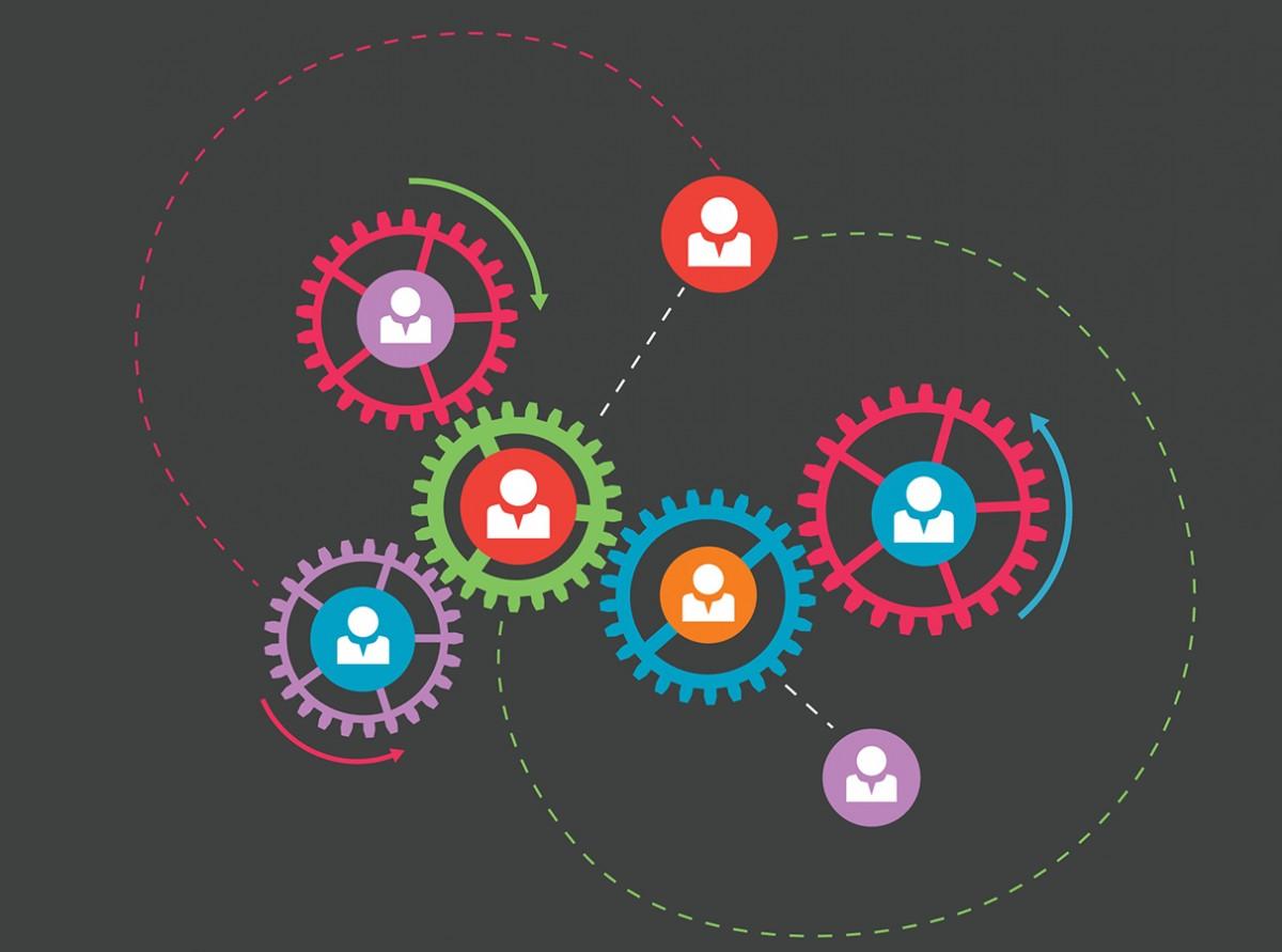 Als Personalreferentin ist Claudia Detzel in ihrem Job für die Personalangelegenheiten von 500 Mitarbeitern zuständig. Das erfordert Organisationstalent und Einfühlungsvermögen. Grafik: Colourbox.de/Omelchenko
