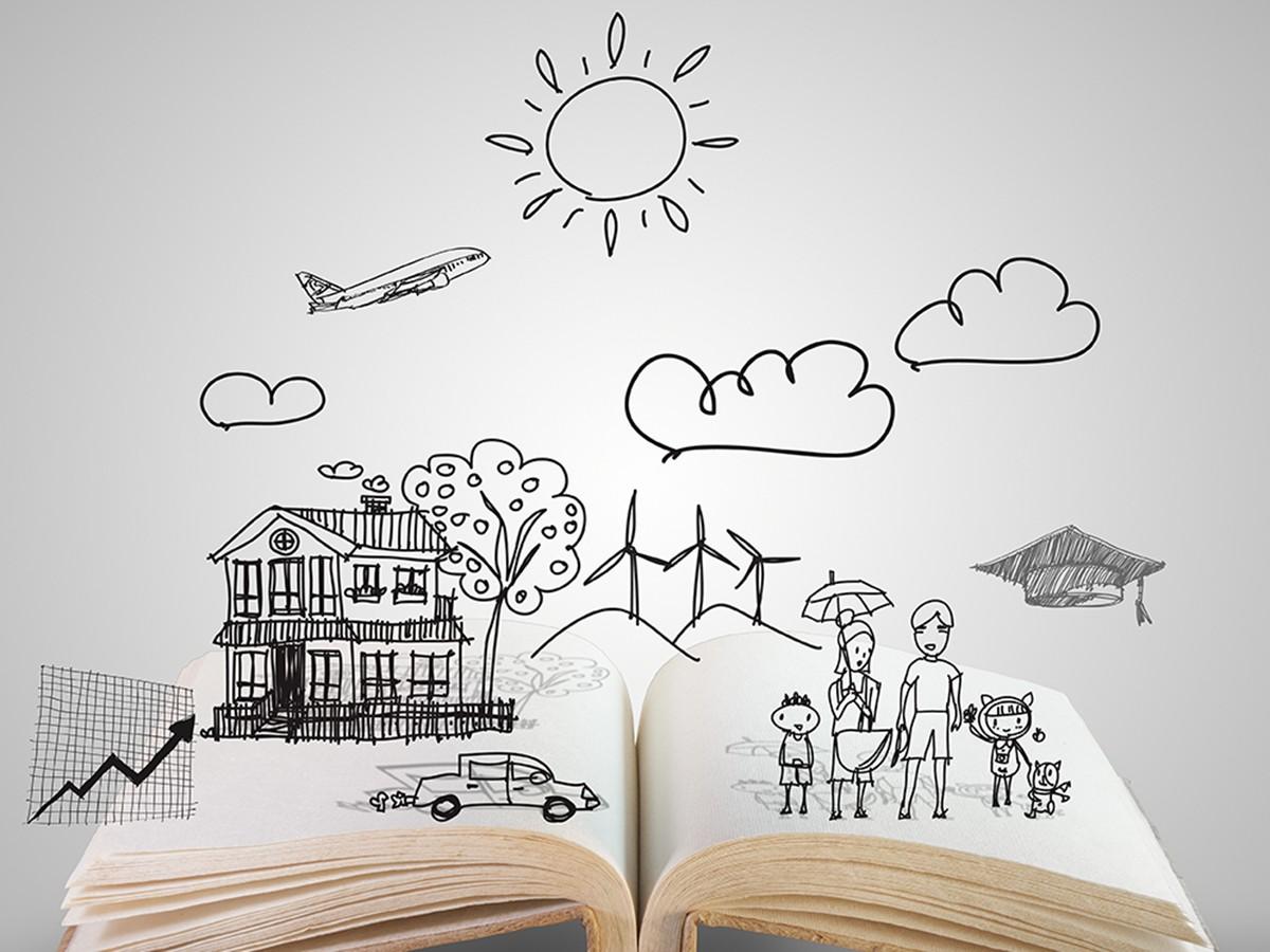 Geschichten erlauben dem Leser, in fremde Welten einzutauchen und neue Erfahrungen zu sammeln. Foto: Colourbox.de