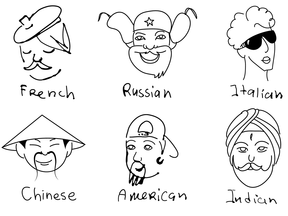 An jeder Nationalität haften Klischees. Im Falle einer Migration kann dadurch ein Stereotype Threat ausgelöst werden. Foto: Colourbox.de