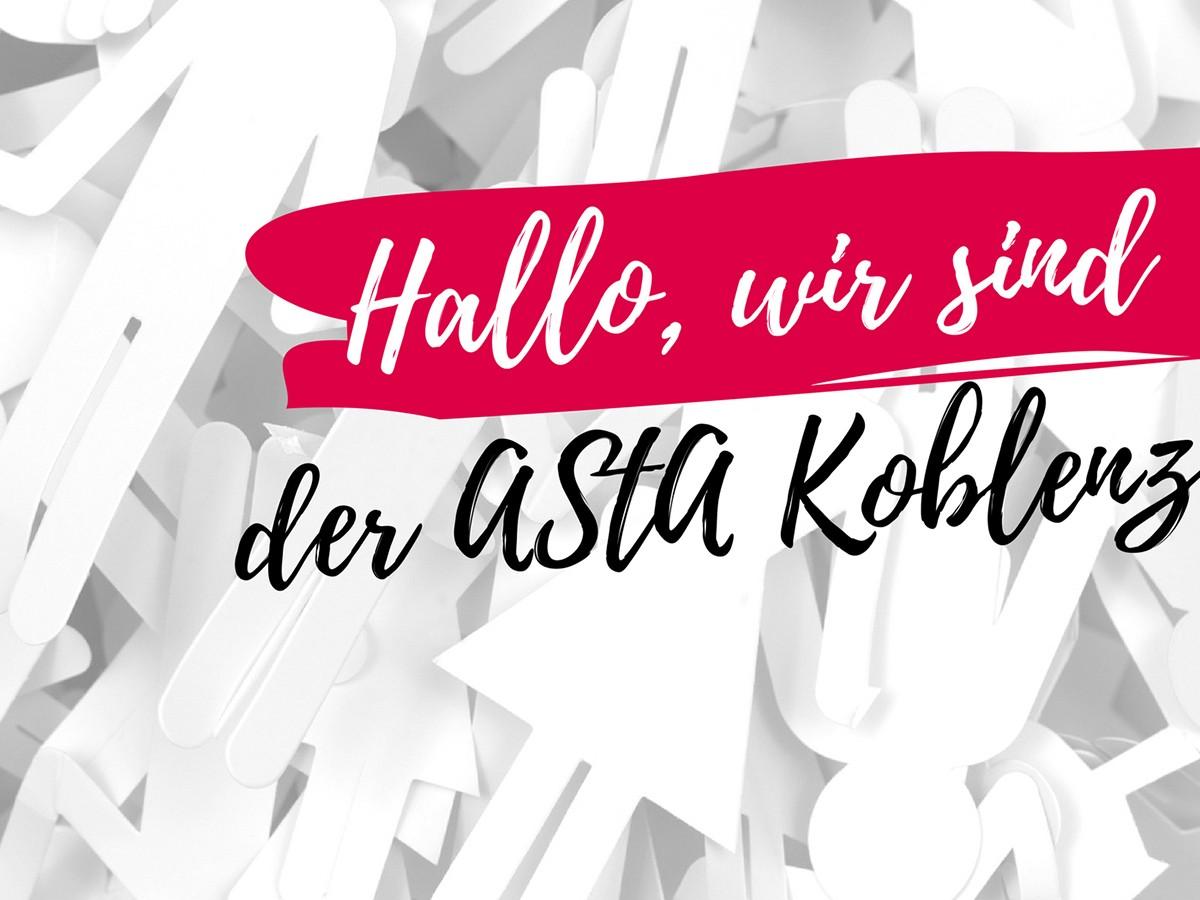 Der Koblenzer AStA stellt sich vor. Foto für Collage: Fotolia