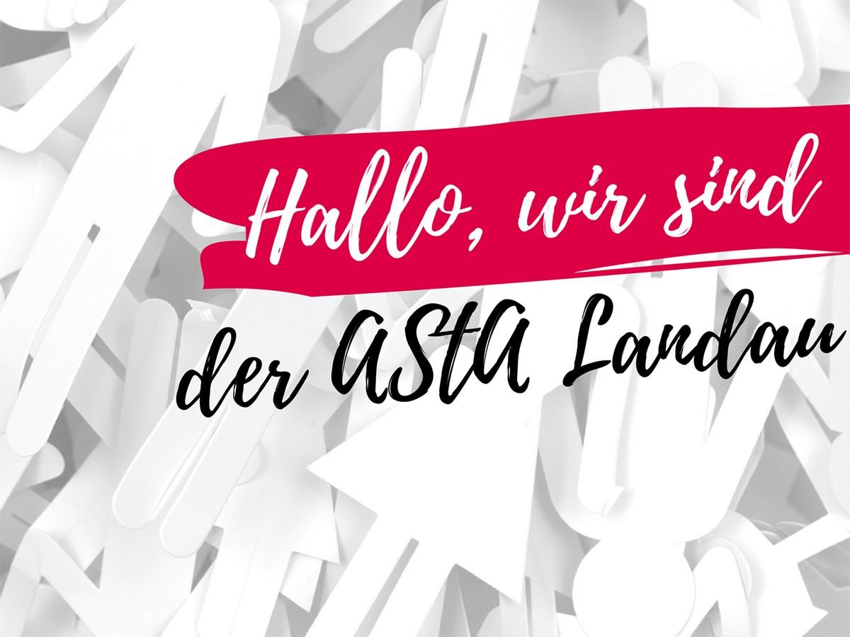 Der Landauer AStA stellt sich vor. Foto für Collage: Fotolia