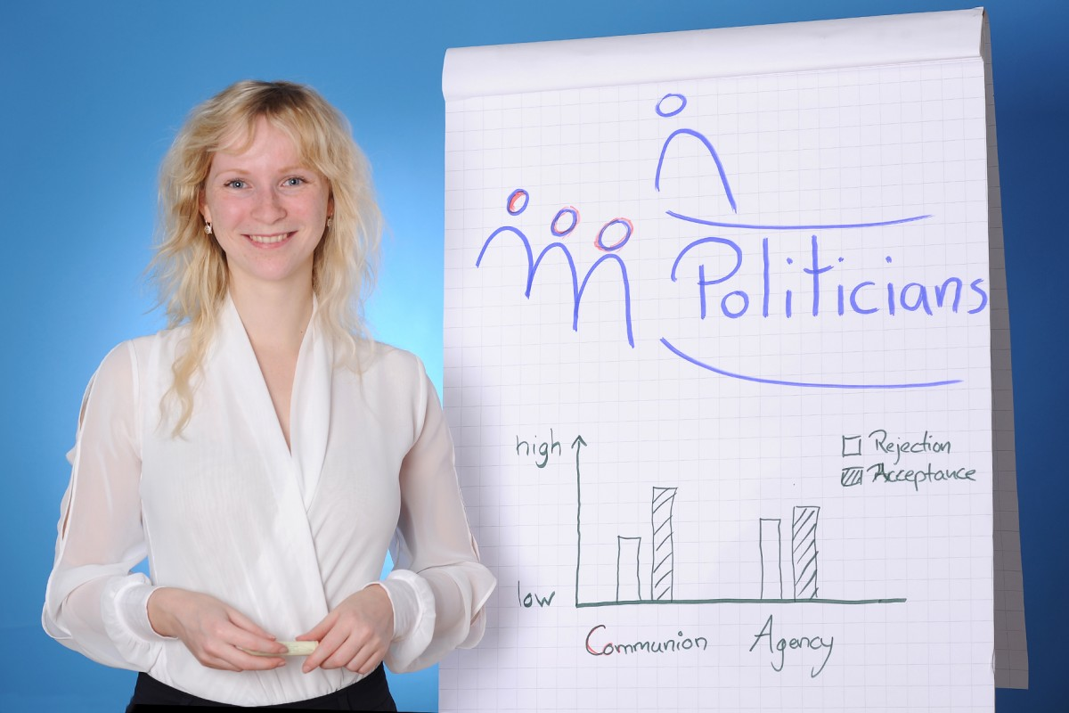 Wie schaffen es Politiker, dass Wähler ihnen vertrauen und am Wahltag für sie stimmen? Dieser Frage geht Doktorandin Nicole Methner in ihrer Promotion nach. Foto: Hiller