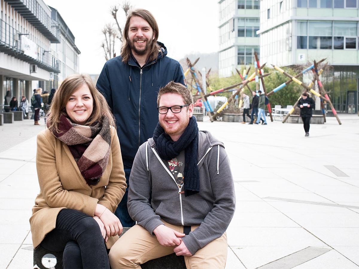 Hochschulgruppen von Amnesty International gibt es an beiden Standorten der Universität. In Koblenz engagiert sich unter anderem Helena Heibel. Foto: Greta Rettler