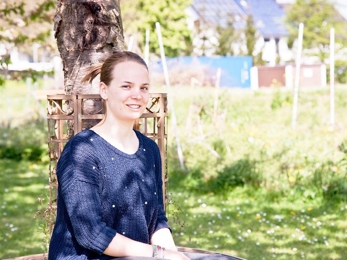 Die 19-jährige Annika Böhmer studiert BioGeowissenschaften. Für ein Praktikum war sie in Oldenburg und berichtet für Uniblog von ihren Erfahrungen. Foto: Greta Rettler