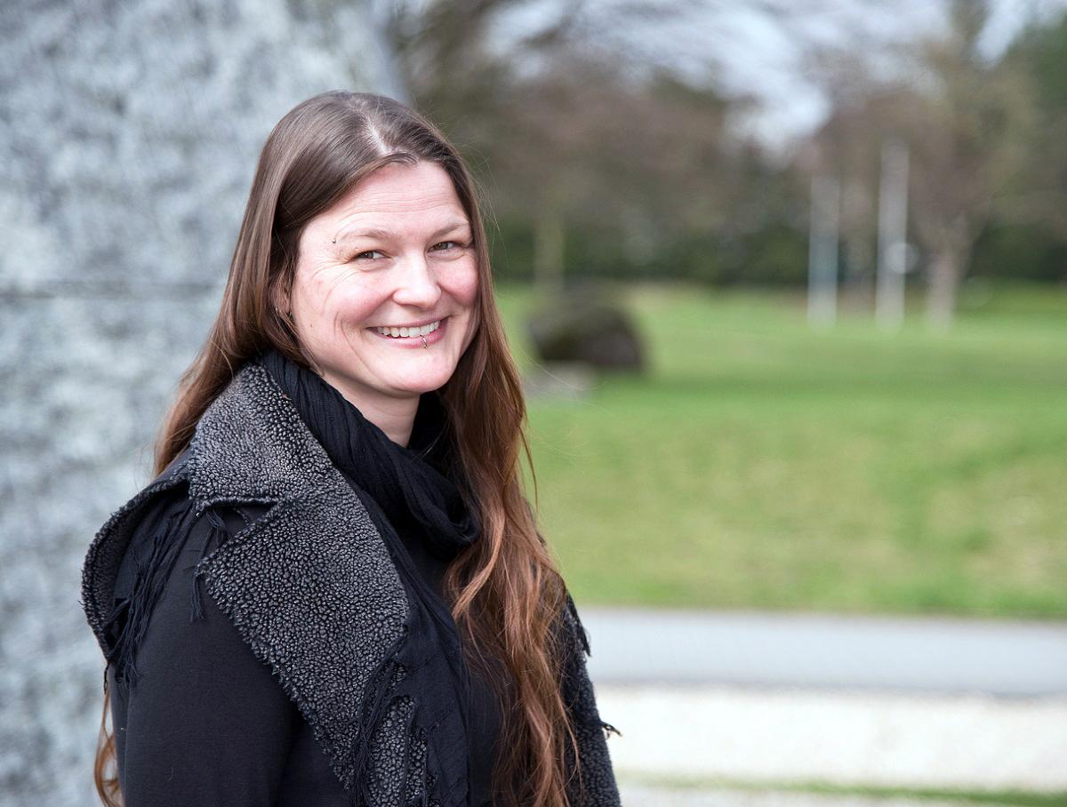 Imke von Helden ist seit 2015 die Koordinatorin des campusübergreifenden Sprachenzentrums in Koblenz und Landau. Foto: Greta Rettler