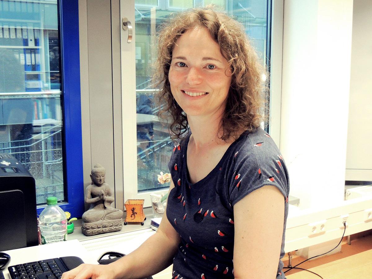 Dr. Ines Vogel vom Medienzentrum nutzt Angebote der HDA, um ihre Lehre zu verbessern.