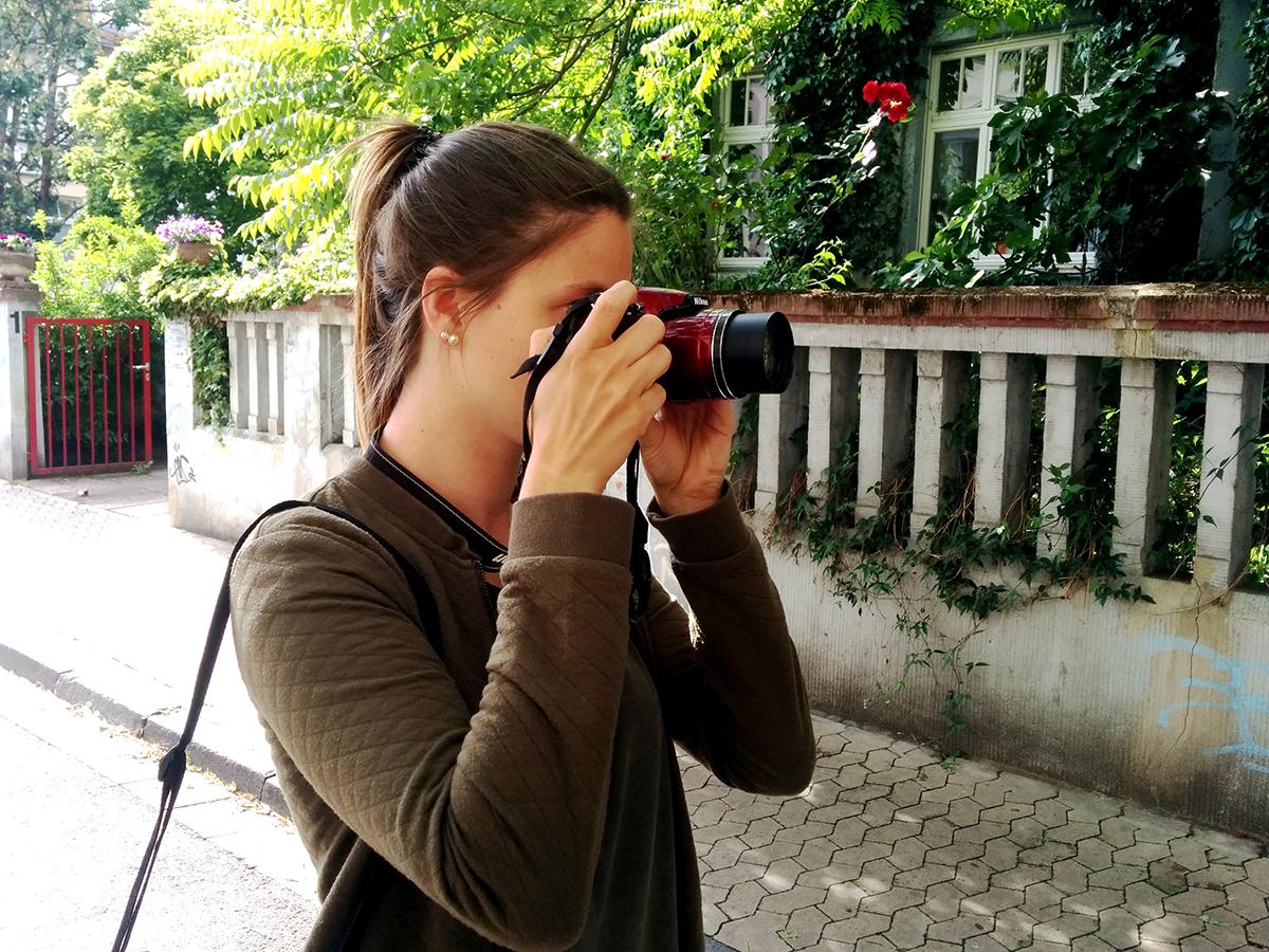 Studentin Lisa Leyerer ist Uniblog-Reporterin am Campus Landau. Foto: Lisa Leyerer