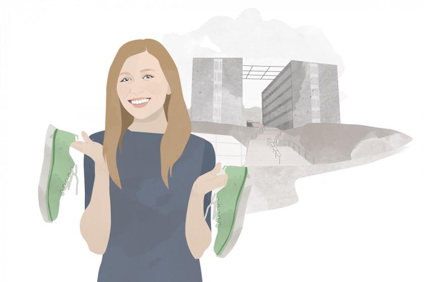 Heute schreibt Campus-Reporterin Constanze Schreiner. Illustration: Designstudio Mathilda Mutant