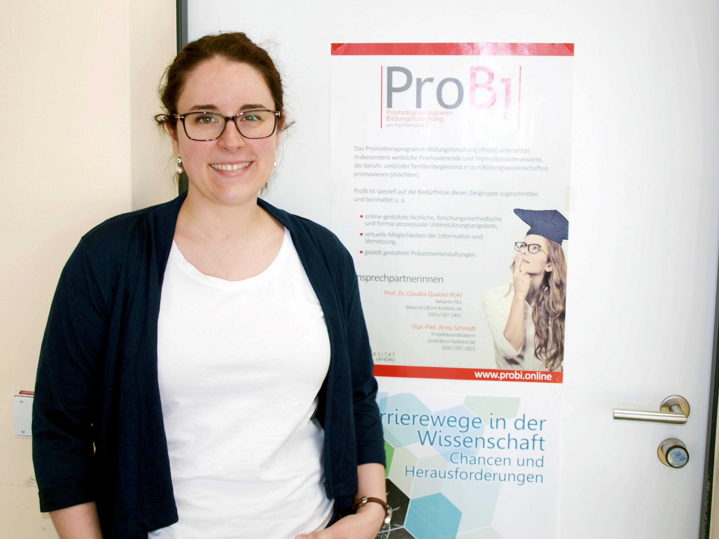 Anna Schmidt ist Projektkoordniatorin von ProBi. Foto: Anna Maria Junghänel